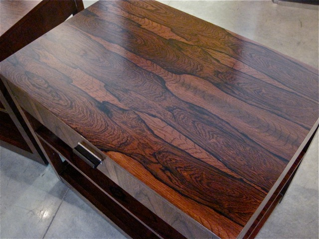 High Quality Brazilian Rosewood End Tables, Brazilian Rosewood End Tables
