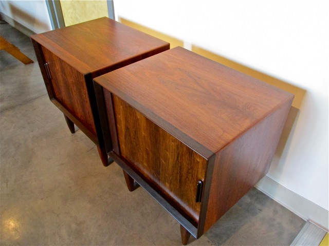 ... Falster Brazilian Rosewood End Tables