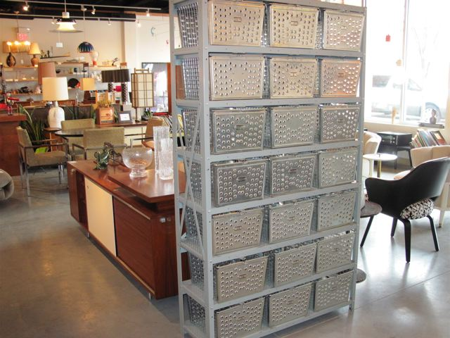 Industrial Metal Bin Storage Unit ...