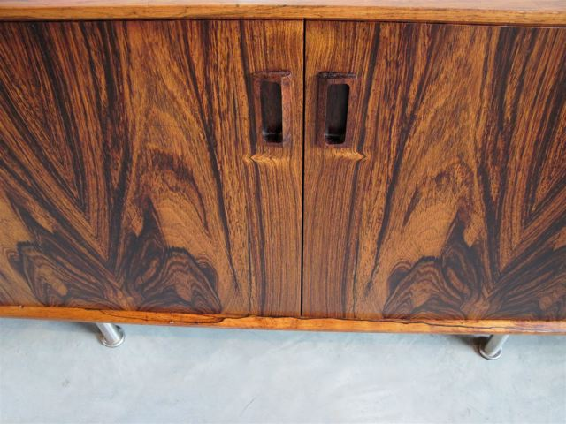 Danish Rosewood Credenza : Danish s low credenza in rosewood by bodil kjaer for e