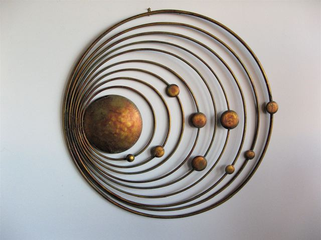 Copper Metal Wall Art ...