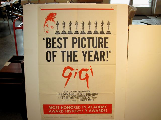 Original Movie Poster Gigi