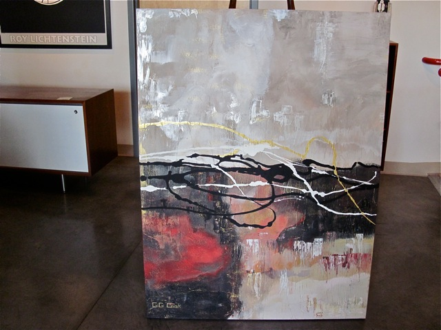 Gigi Cook <em>Angel Thoughts</em> Abstract Painting