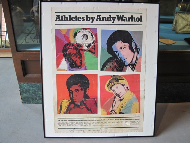 Andy Warhol <em>Athletes</em> Offset Litho