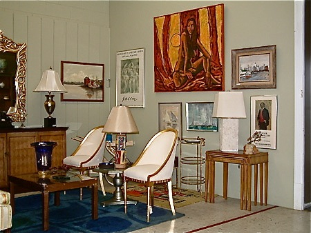 January 2013--  Mid Century Furnishings & Decorative Arts Thrive in Richmond, Virginia
