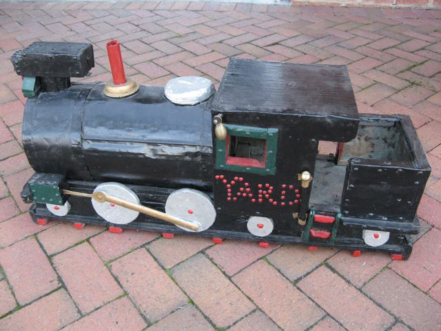 Americana Toy Railroad Yard Engine
