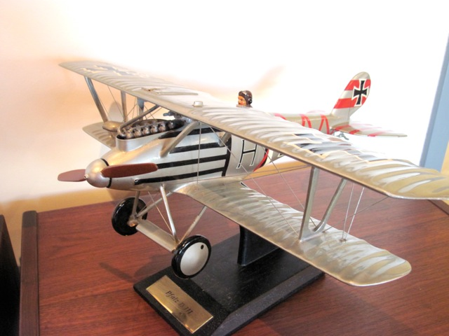 Pflaz D-III Fighter Airplane Model