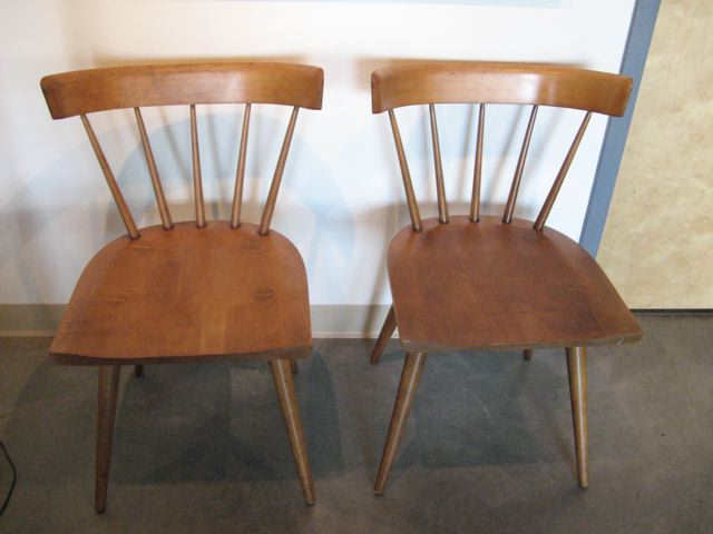 Two Paul McCobb Side Chairs ...