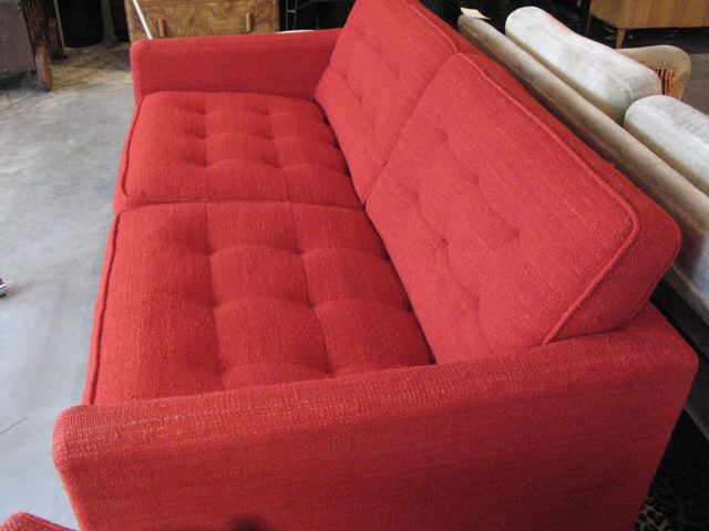 Florence Knoll Settee and Lounge Chair