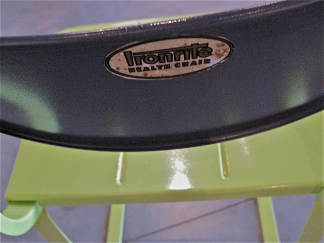 Herman Sperlich  Ironrite <em>Health Chair</em>