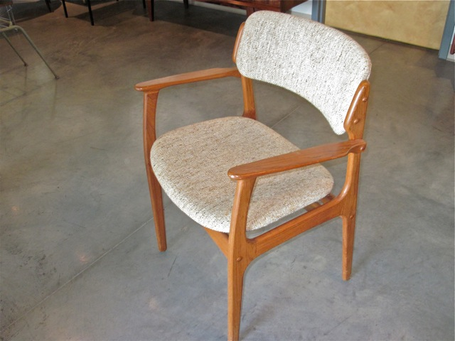 Erik Buck Teak Dining Chairs