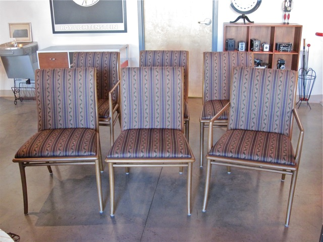 Robsjohn-Gibbings <em>Sabre Leg</em> dining Chairs