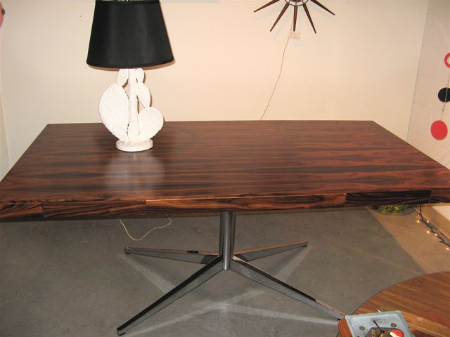 Florence Knoll Rosewood Partners Desk ...