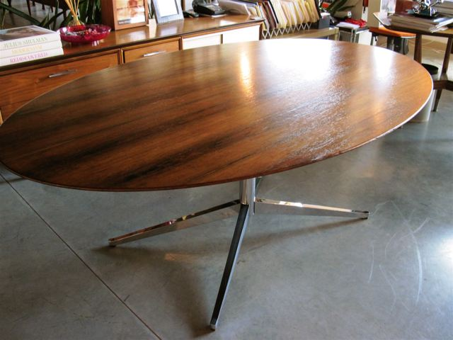 Florence Knoll Rosewood Table, Florence Knoll Rosewood Table