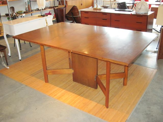 George Nelson Gate Leg Dining Table