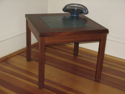 "Two Brown-Saltman ""Constellation"" End Tables"