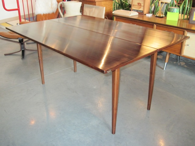 metro modern - jens risom dining table & console