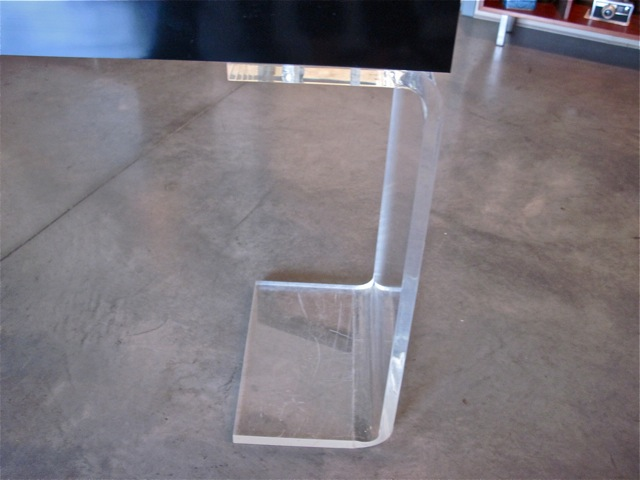 Hill Lucite Console Table