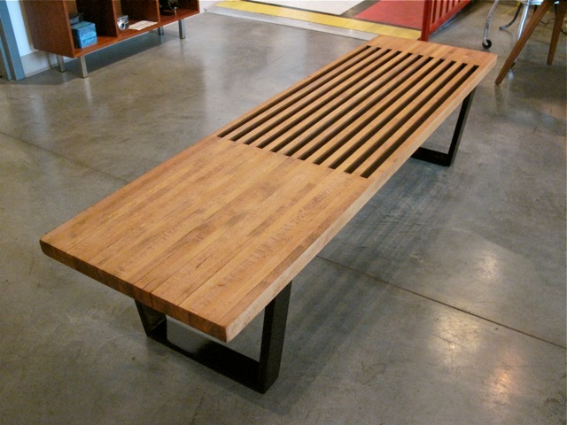 George Nelson Style Platform Bench ...