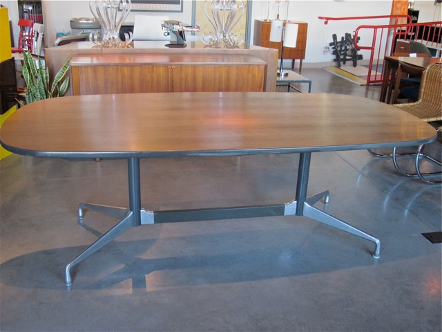 Charles Eames Walnut Conference/Dining Table