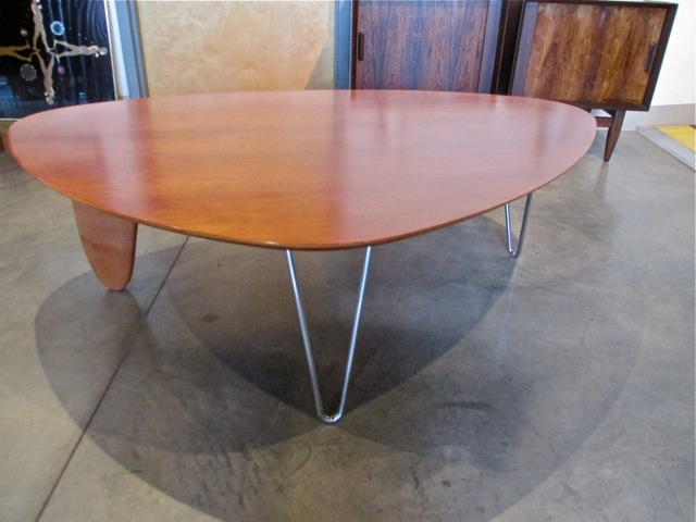 wood rudder metro modern noguchi rudder coffee table in52